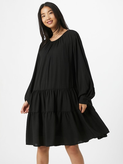 SELECTED FEMME Kleid 'Maya' in schwarz: Frontalansicht