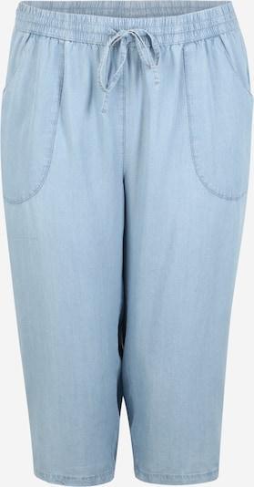 Zizzi Jeans 'MISA CAPRI' in de kleur Blauw denim, Productweergave