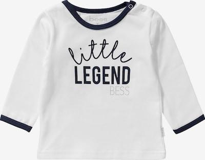 BESS Shirt in schwarz / weiß, Produktansicht