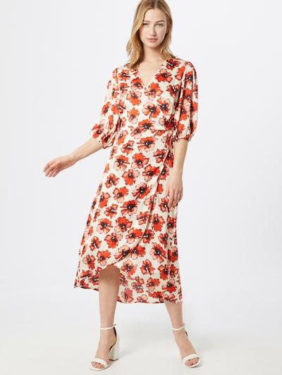 SOAKED IN LUXURY Kleid 'Isabeth' in rot / schwarz / weiß, Modelansicht