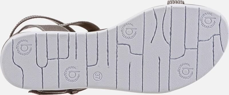 bugatti Sandale mit Schmucksteinen