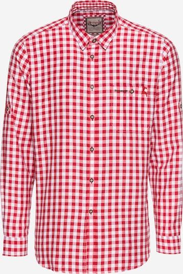 STOCKERPOINT Hemd 'Mitchel' in rot / weiß, Produktansicht