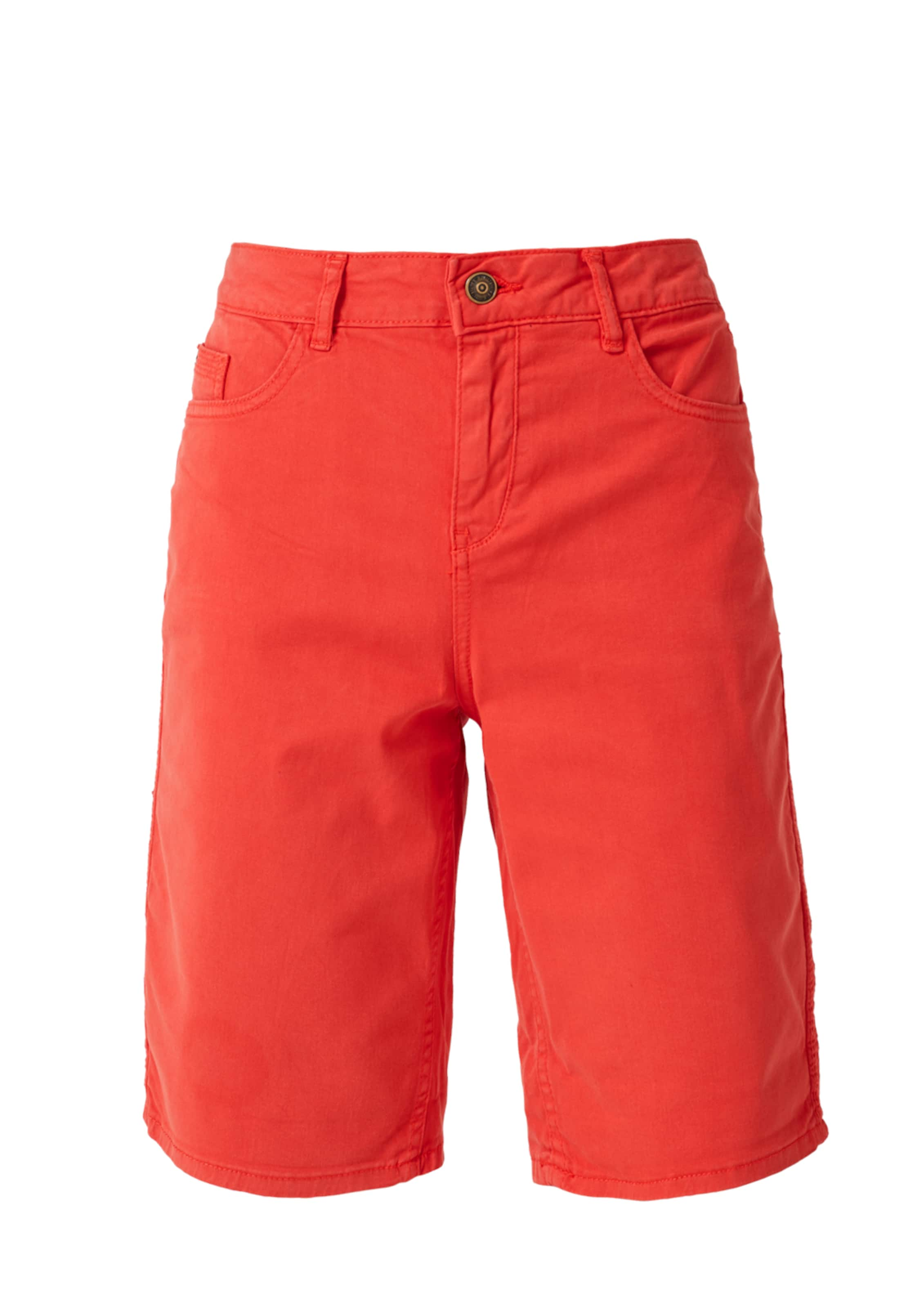 Red S Orangerot Label Shorts In oliver roWxBeQdC