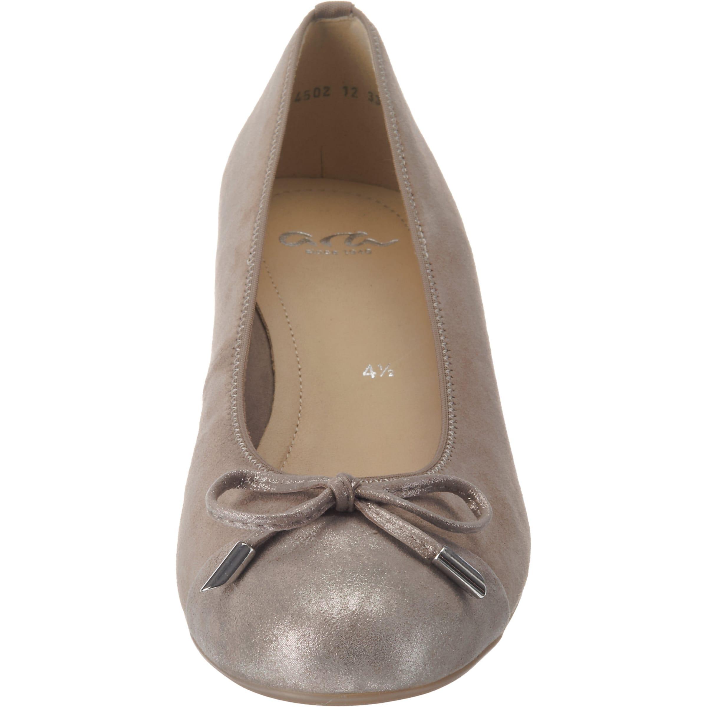 Ballerinas 'bari' Grau Ara Ara In vmNnywO80