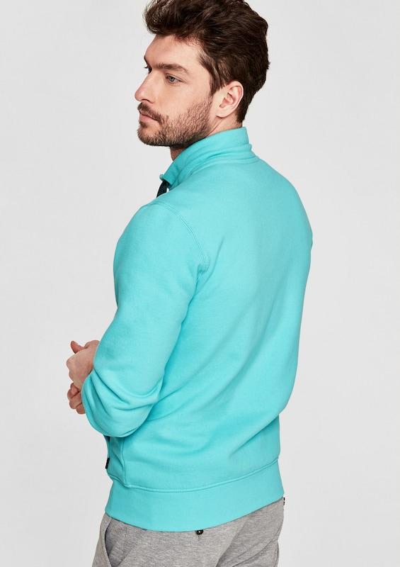 s.Oliver RED LABEL Sweatshirt-Jacke mit Print