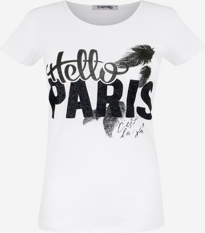 Trueprodigy In ZwartWit 'hello Paris' Shirt mvwNn08