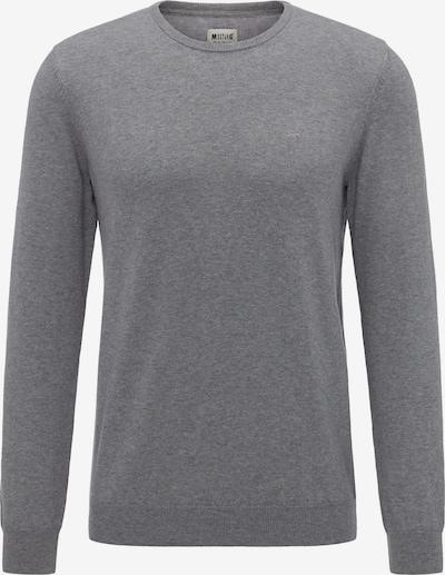 MUSTANG Sweater in graumeliert, Produktansicht