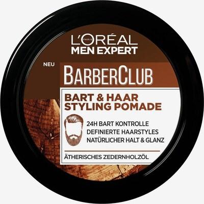 L'Oréal Paris men expert 'Barber Club Bart und Haar Styling Pomade', Bartstyling in dunkelbraun / schwarz, Produktansicht