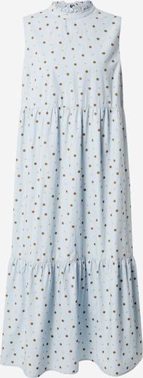 PIECES Kleid 'ANAIS' in hellblau / hellbraun, Produktansicht