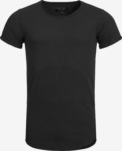 INDICODE JEANS T-Shirt 'Willbur' en noir chiné, Vue avec produit