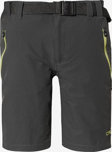 CMP Outdoorhose in dunkelgrau / grün / schwarz, Produktansicht