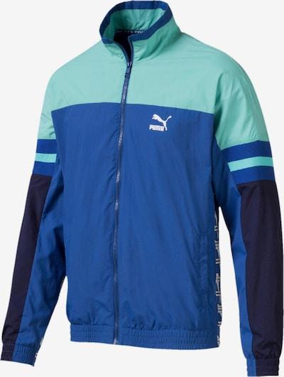 PUMA Jacke 'XTG' in blau / navy / türkis / weiß, Produktansicht