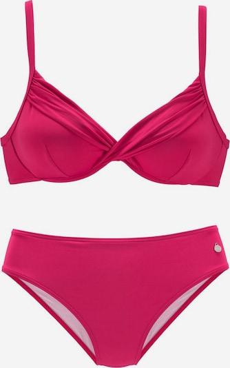 LASCANA Bikini 'Sienna' | brusnica barva, Prikaz izdelka