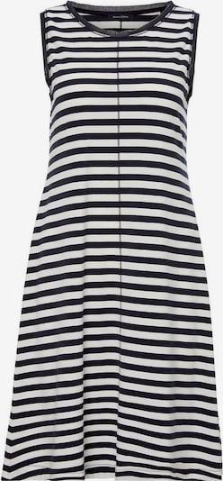 Marc O'Polo Jerseykleid in blau / weiß, Produktansicht