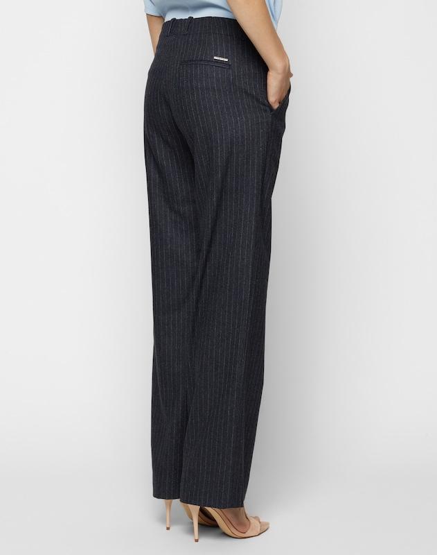 Deyk Pants Made From Fine Wool Mix Lynn