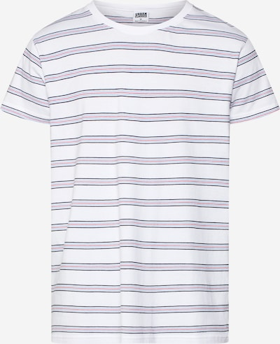 Urban Classics Majica | kobalt modra / opal / ognjeno rdeča / bela barva, Prikaz izdelka