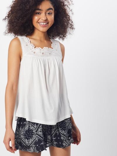 Superdry Haut en blanc, Vue avec modèle