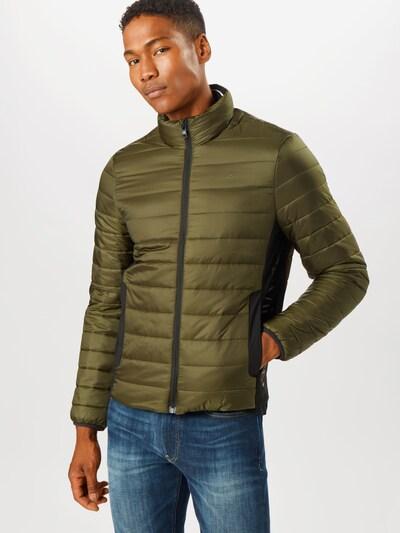 Calvin Klein Jacke in oliv / schwarz, Modelansicht