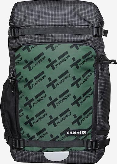 CHIEMSEE Sportrugzak in de kleur Smaragd / Zwart, Productweergave