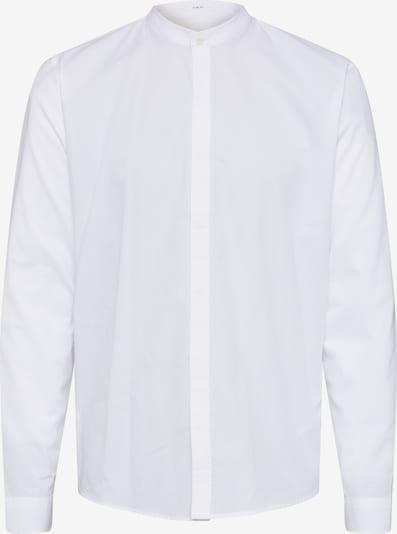 Lindbergh Hemd 'Mandarin' in weiß, Produktansicht