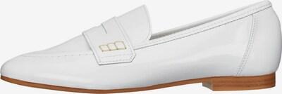 Bianco Halbschuhe 'Patent Penny' in weiß, Produktansicht