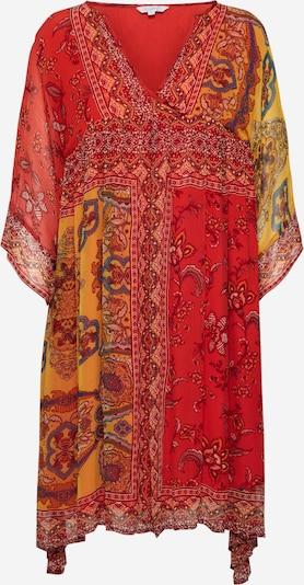 Frogbox Jurk 'India' in de kleur Gemengde kleuren / Rood, Productweergave