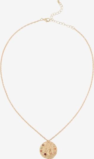 ABOUT YOU Chaîne 'Virgo Zodiac' en or, Vue avec produit