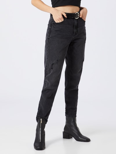 VERO MODA Jeans 'VMJOANA' in schwarz: Frontalansicht