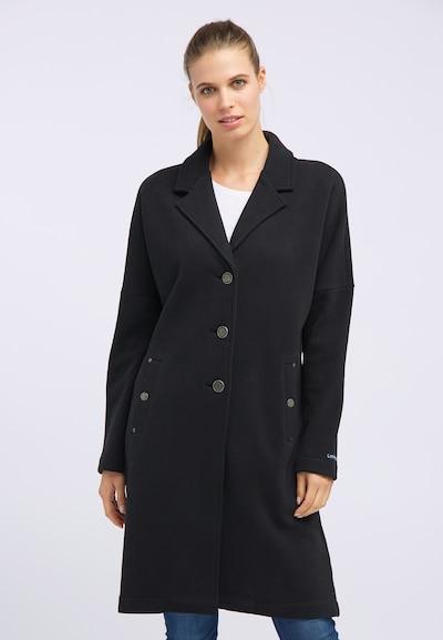 DREIMASTER Mantel 'Maritim' in schwarz, Modelansicht