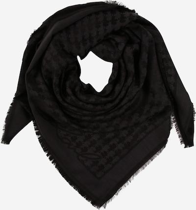 Karl Lagerfeld Schal 'Kameo Signa' in schwarz, Produktansicht