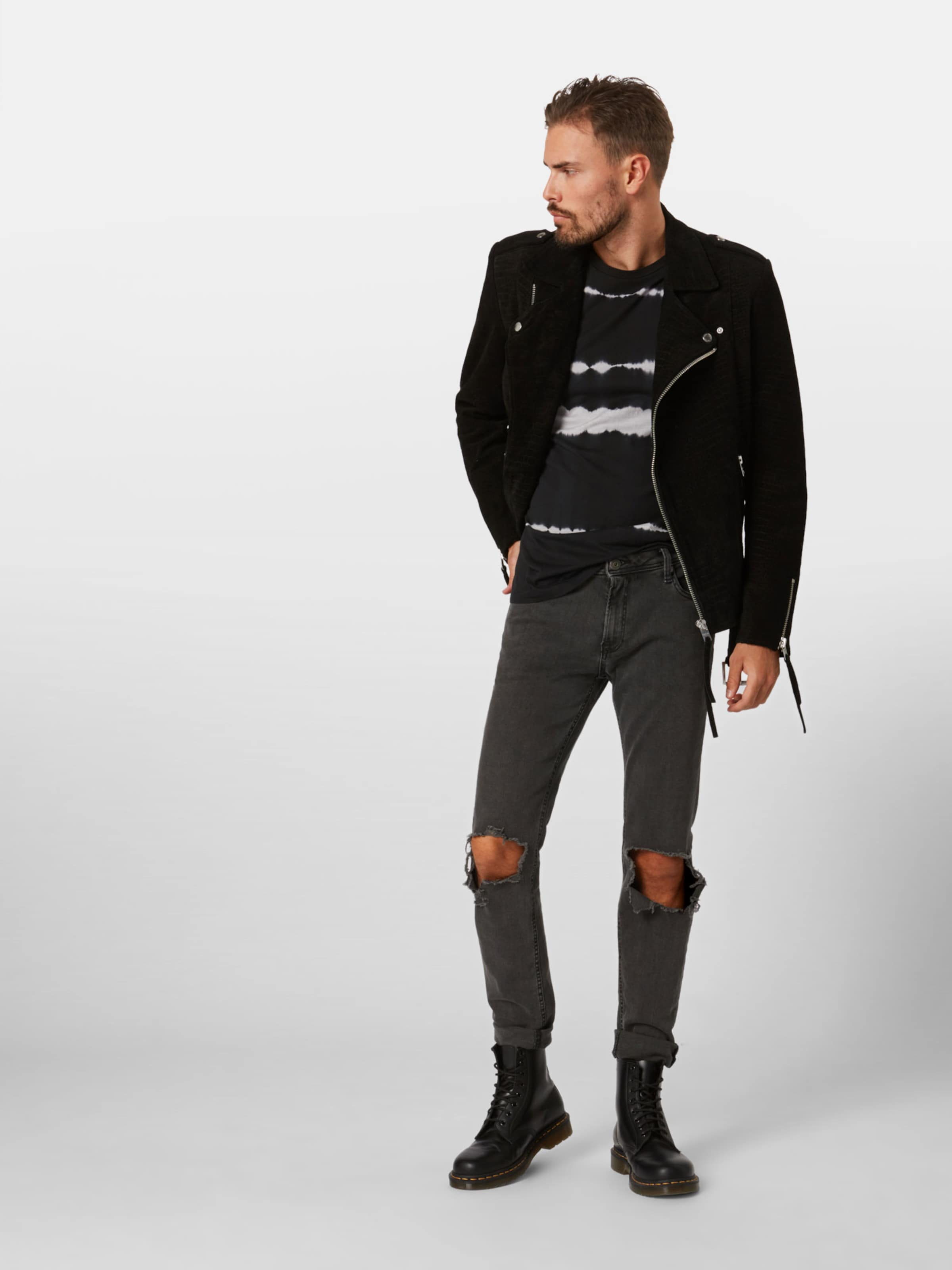 Jackamp; Shirt Jones 'joralbert' SchwarzWeiß In shQtCrd