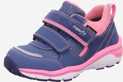SUPERFIT Schuhe 'SPORT5' in blau / rosa, Produktansicht