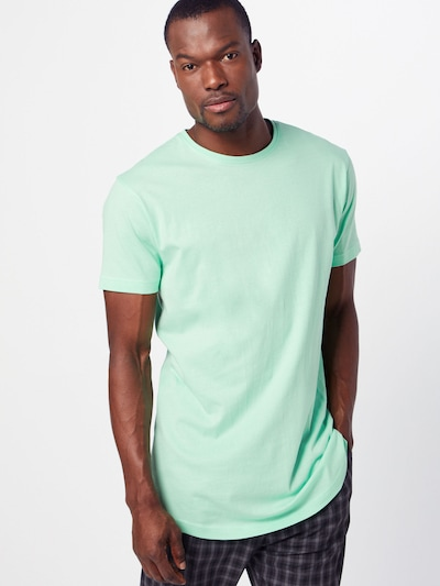 Urban Classics T-Shirt in mint: Frontalansicht