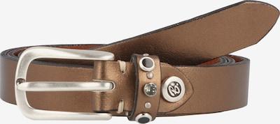 b.belt Handmade in Germany Riem 'Jaclyn' in de kleur Brons, Productweergave