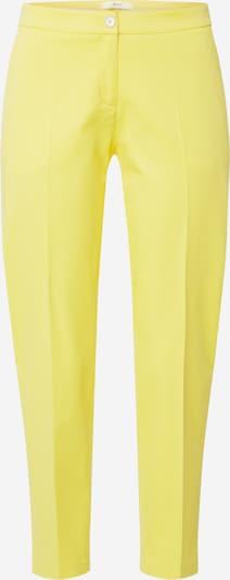 BRAX Chino hlače 'Maron' u žuta, Pregled proizvoda
