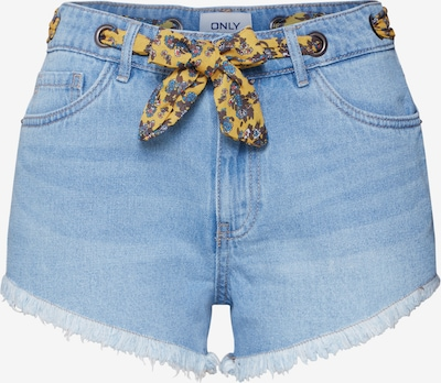 ONLY Shorts 'Divine' in blue denim: Frontalansicht