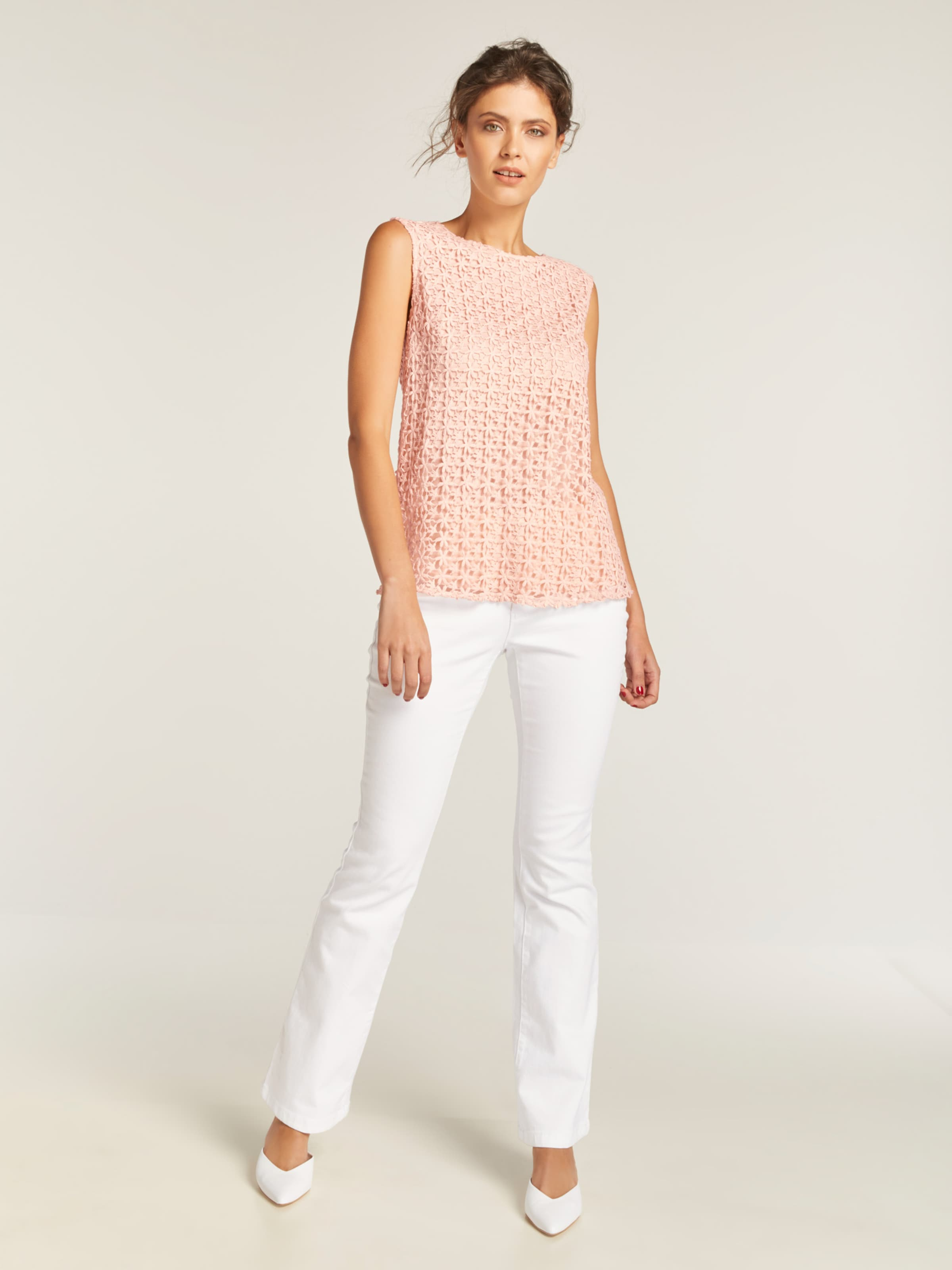 Heine Abricot shirt Heine shirt T En En T Abricot NnPX0Ok8w