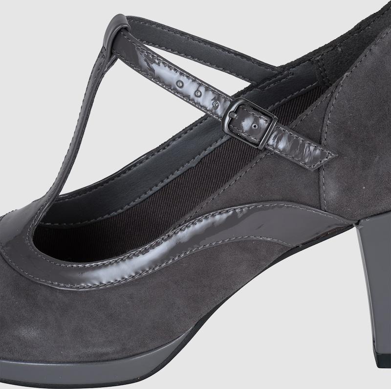 CLARKS | Pumps mit Gut Lackriemchen 'Chorus Pitch' Schuhe Gut mit getragene Schuhe ff0a6c