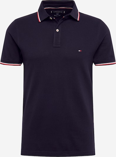 TOMMY HILFIGER T-shirt 'TOMMY TIPPED SLIM POLO' i marinblå, Produktvy