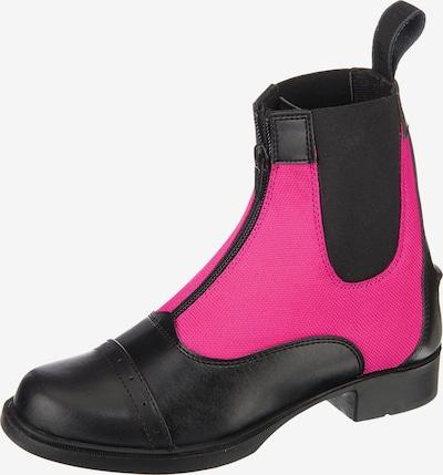 HORKA Reitstiefelette 'KING' in pink / schwarz, Produktansicht