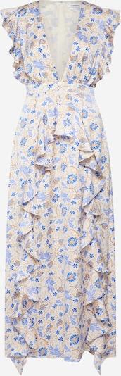 GLAMOROUS Kleid in creme / blau / mischfarben, Produktansicht