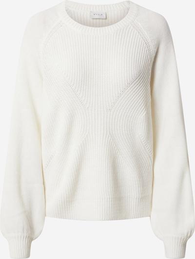 Pulover VILA pe alb, Vizualizare produs