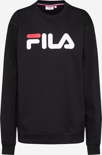 FILA Sweatshirt 'Pure' in de kleur Rood / Zwart / Wit, Productweergave