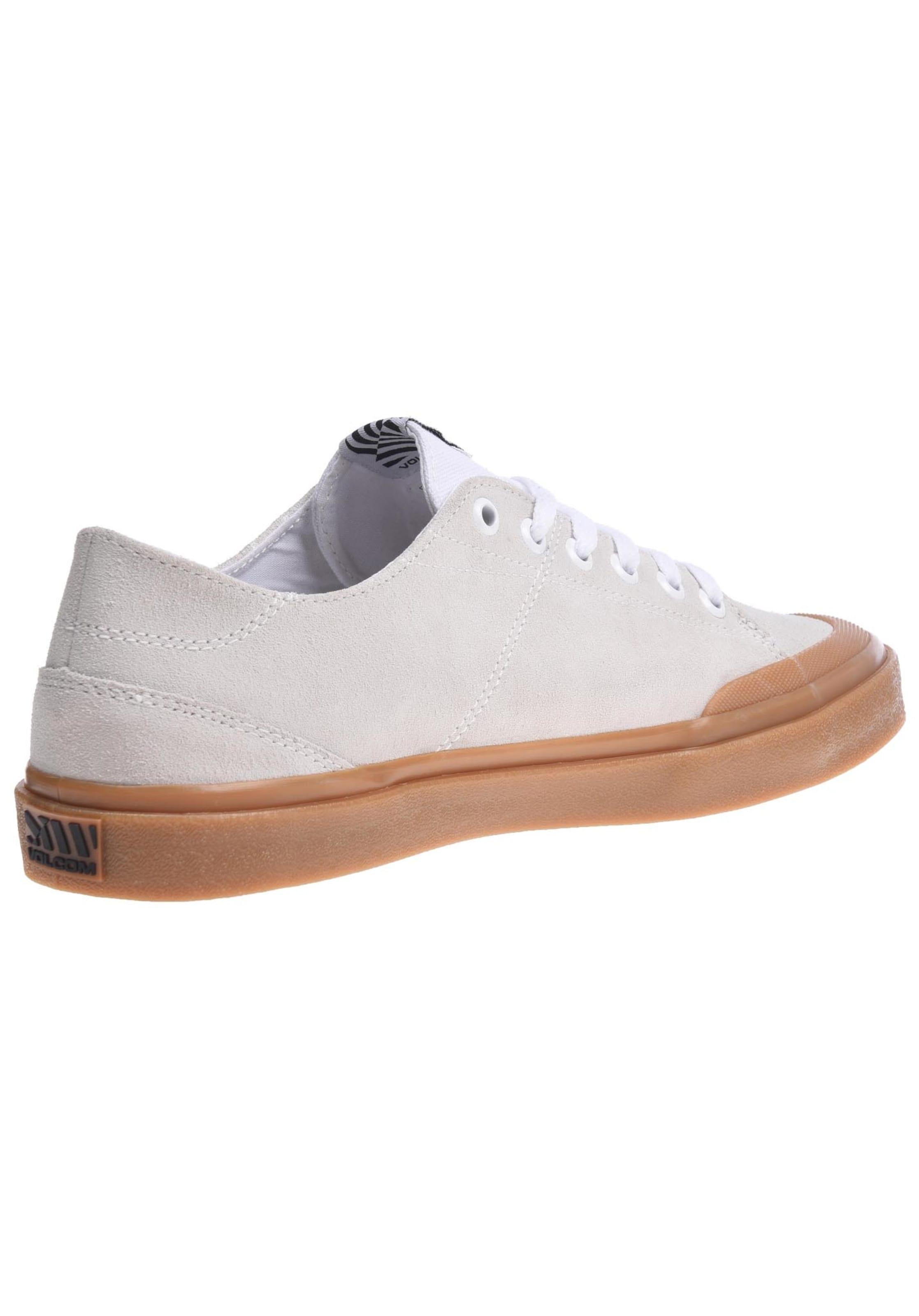 In Sneaker Creme Suede' Volcom 'leeds IEWHeD9Y2b