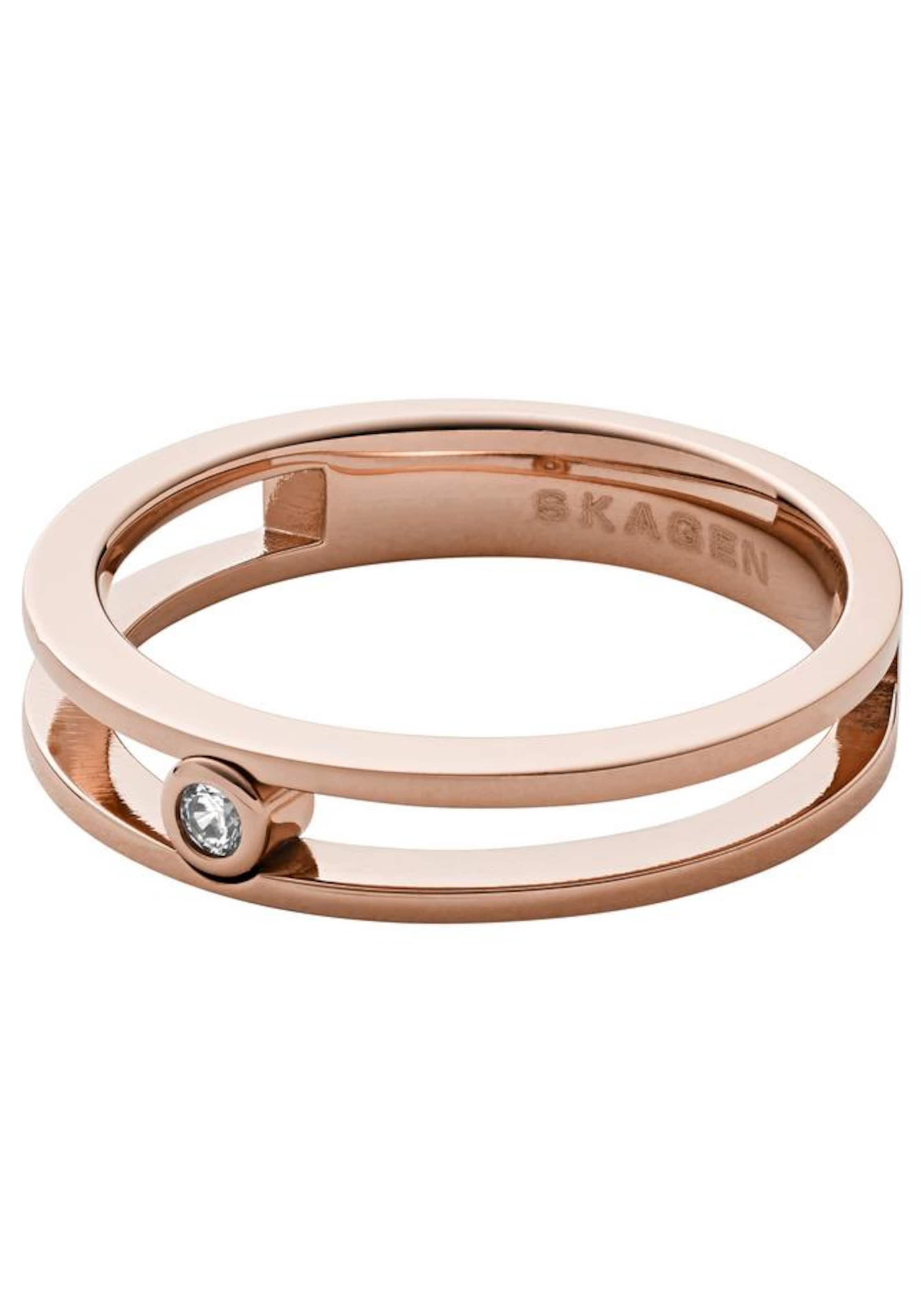 Rosegold Ring 'elin' Skagen In Ring Skagen KJcl1FT