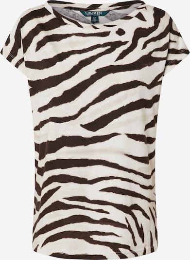 Lauren Ralph Lauren Shirt 'GRIETA' in de kleur Beige / Zwart, Productweergave