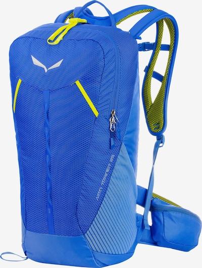 SALEWA Sportrugzak 'Trainer 25' in de kleur Blauw / Lichtblauw / Geel, Productweergave