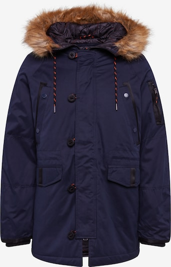 Superdry Winterparka 'SDX' in de kleur Navy, Productweergave