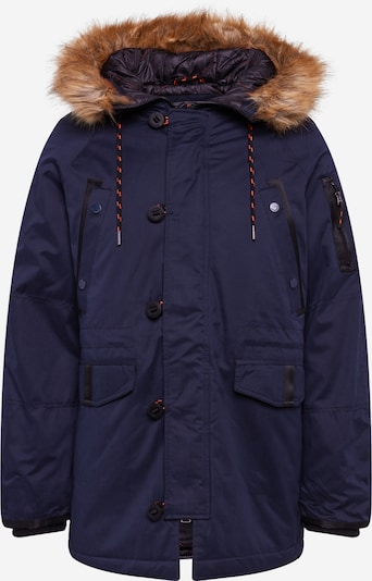Superdry Winterparka in de kleur Navy, Productweergave