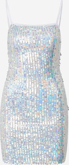 Tally Weijl Haljina 'Sequin' u srebro / bijela, Pregled proizvoda
